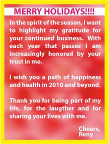 Happy Holidays 2009-2010